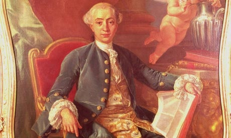 Giacomo Casanova, legendary seducer, womaniser and inventor of the French national lottery!
