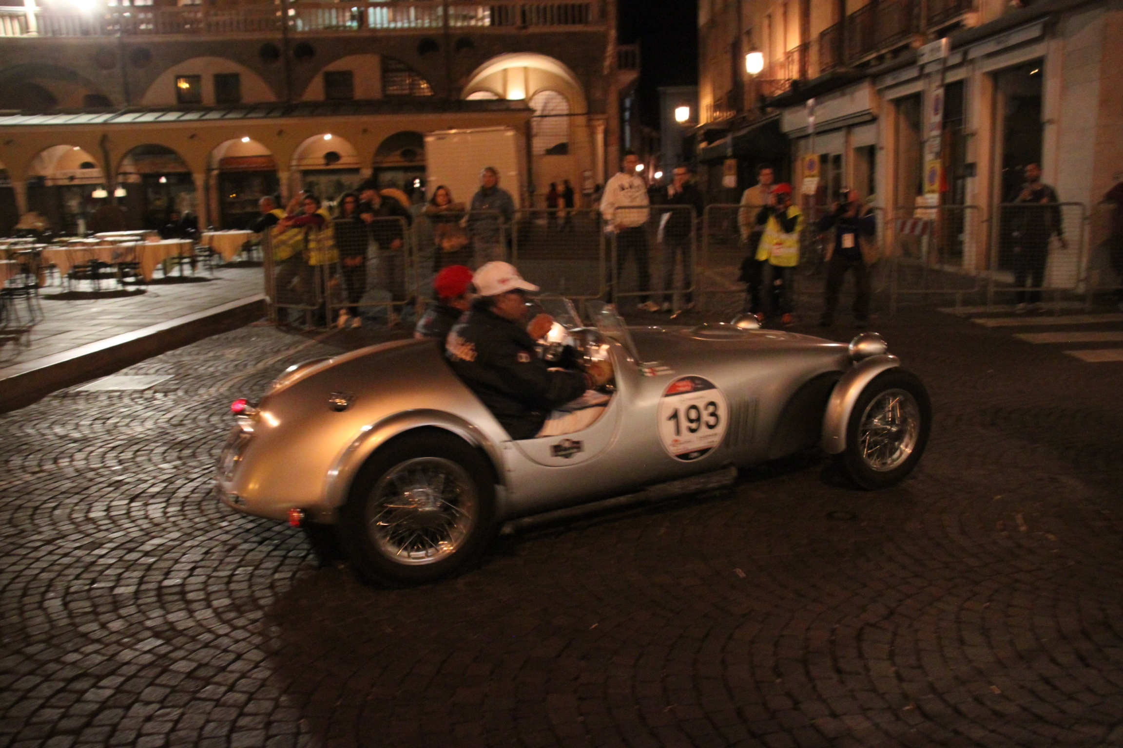 Over 300 classic cars take part in the annual Mille Miglia race