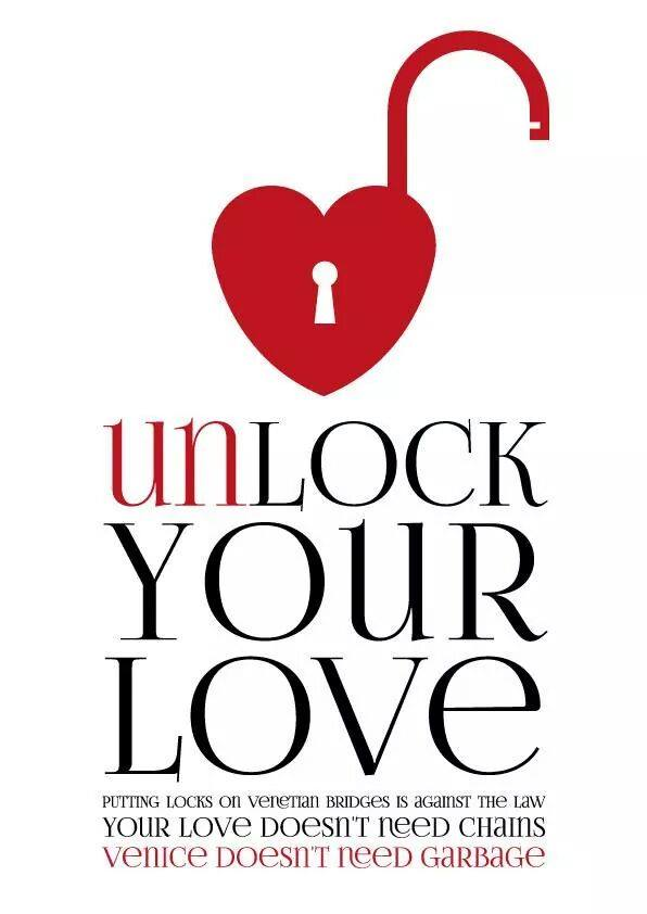 Unlock your love, unlock your heart - Venetian campaign leaflet