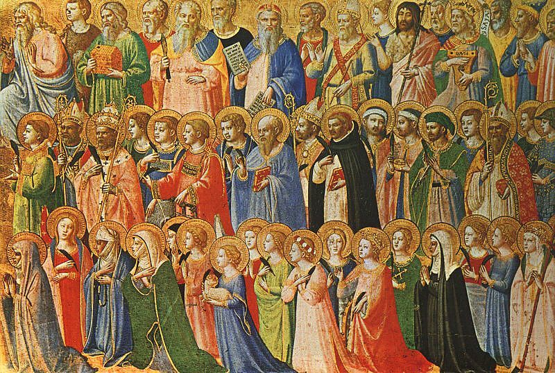 All the saints in the Christian World by