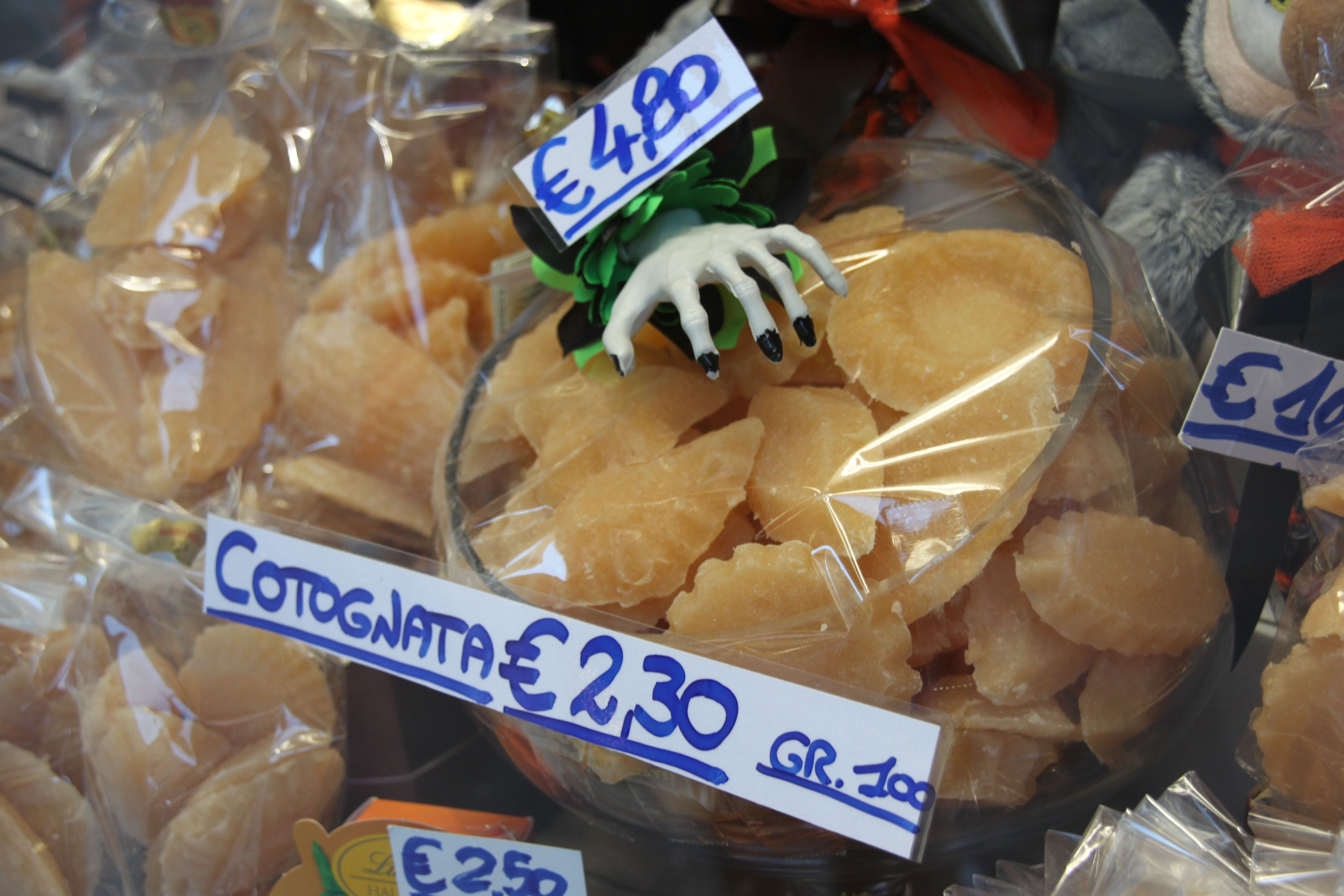 Yummy cotognata quince jelly sweets