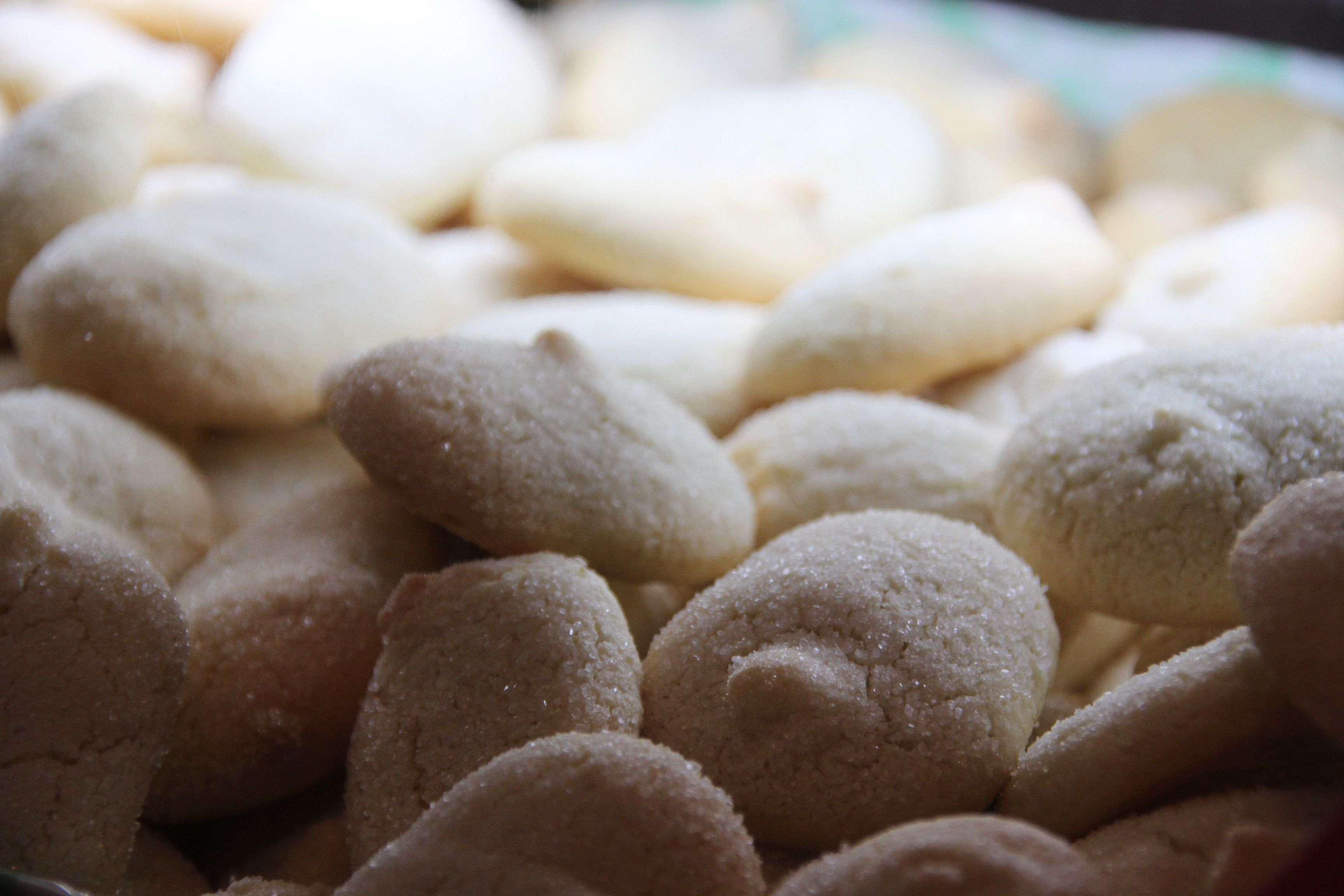 Fave dei morti are eaten in Perugia to celebrate the day of the dead or All Souls Day