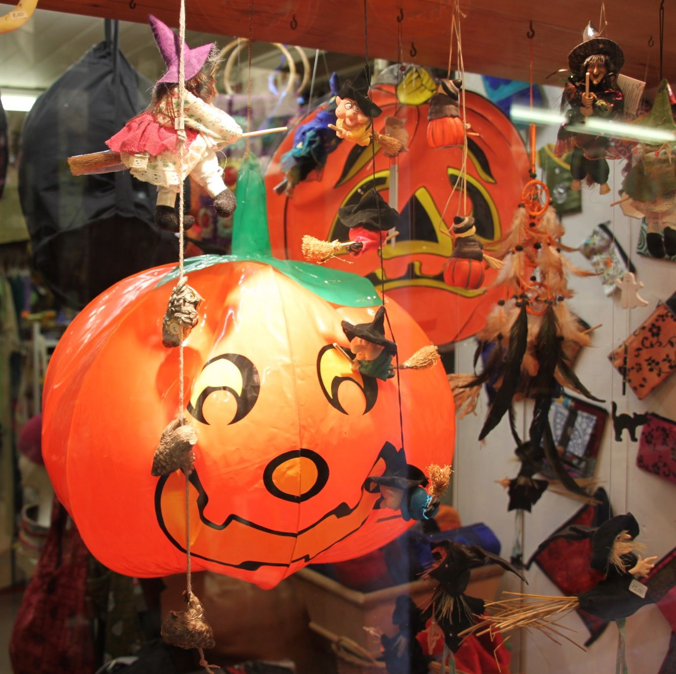 The American and British tradition of carving pumpkin lanterns to scare away evil spirits is seen in some of the larger Italian cities, but is not typically Italian