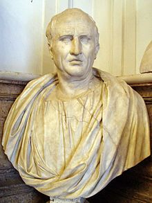 Roman philosopher and all-round clever chap Cicero