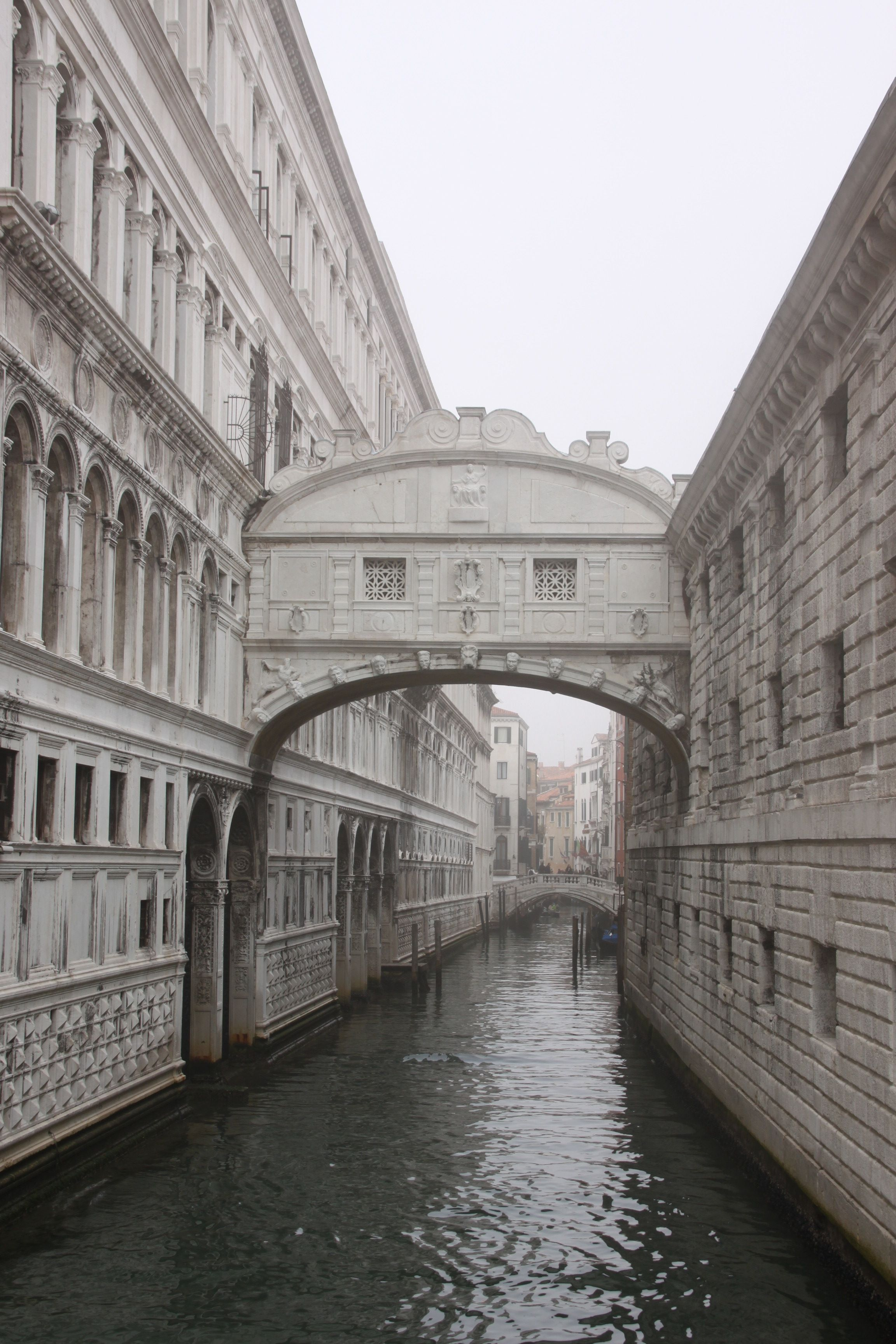 A misty Bridge of Sighs