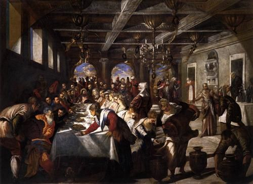The Marriage at Cana by Tintoretto