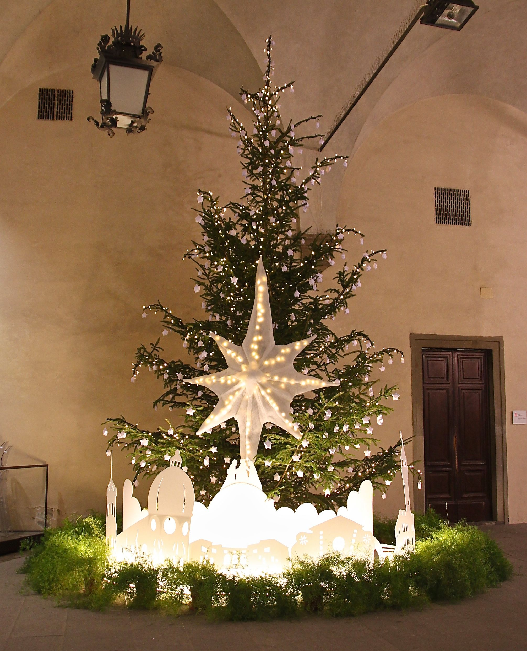 christmas tree decorations - Merry Christmas And Happy New Year In Italian