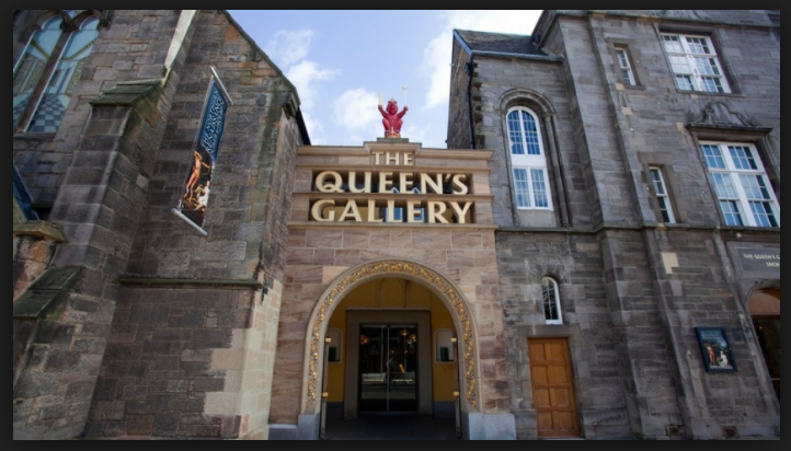The Queen's Gallery, Palace of Holyroodhouse, Edinburgh