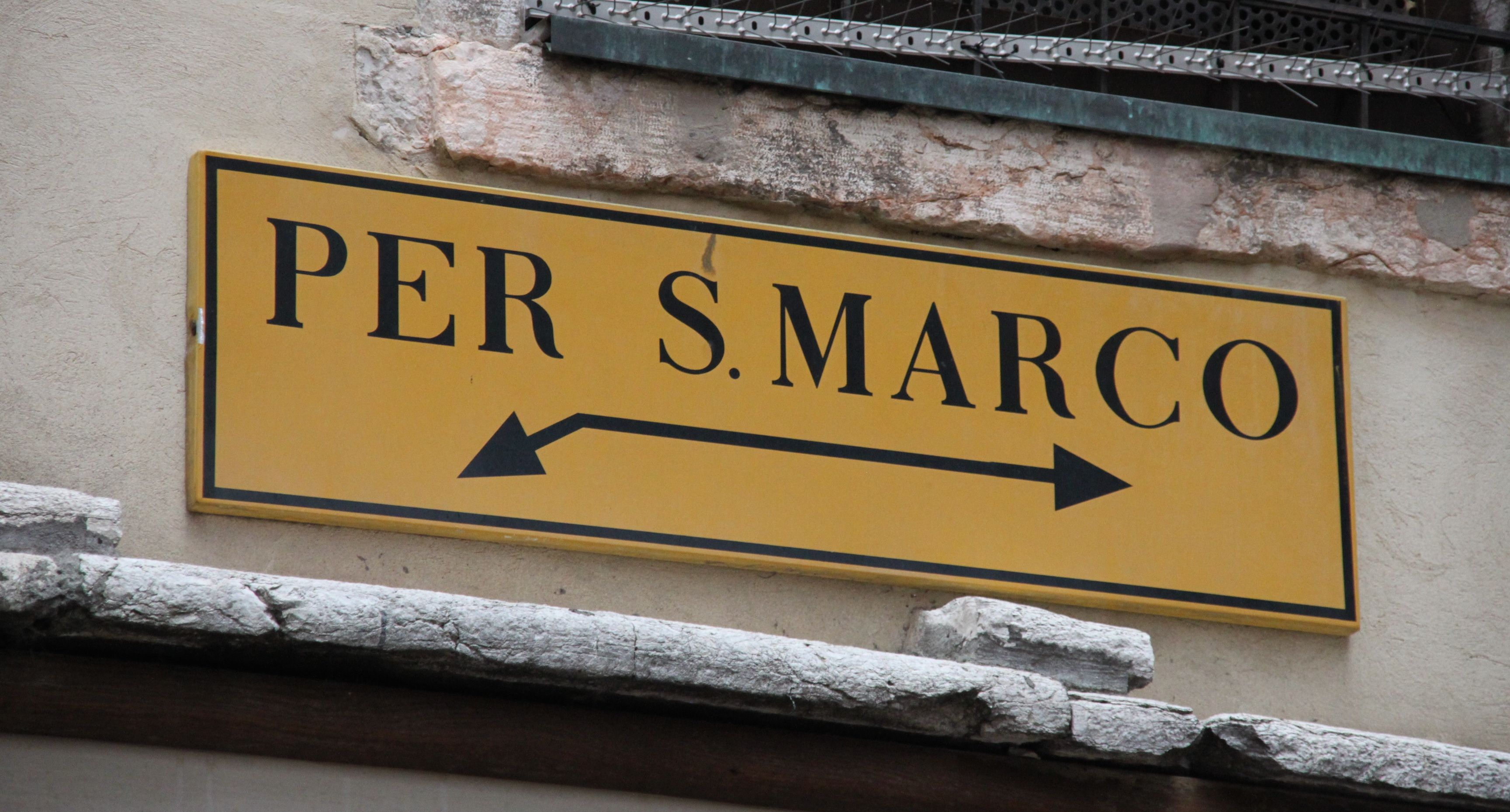 Every road leads to San Marco!