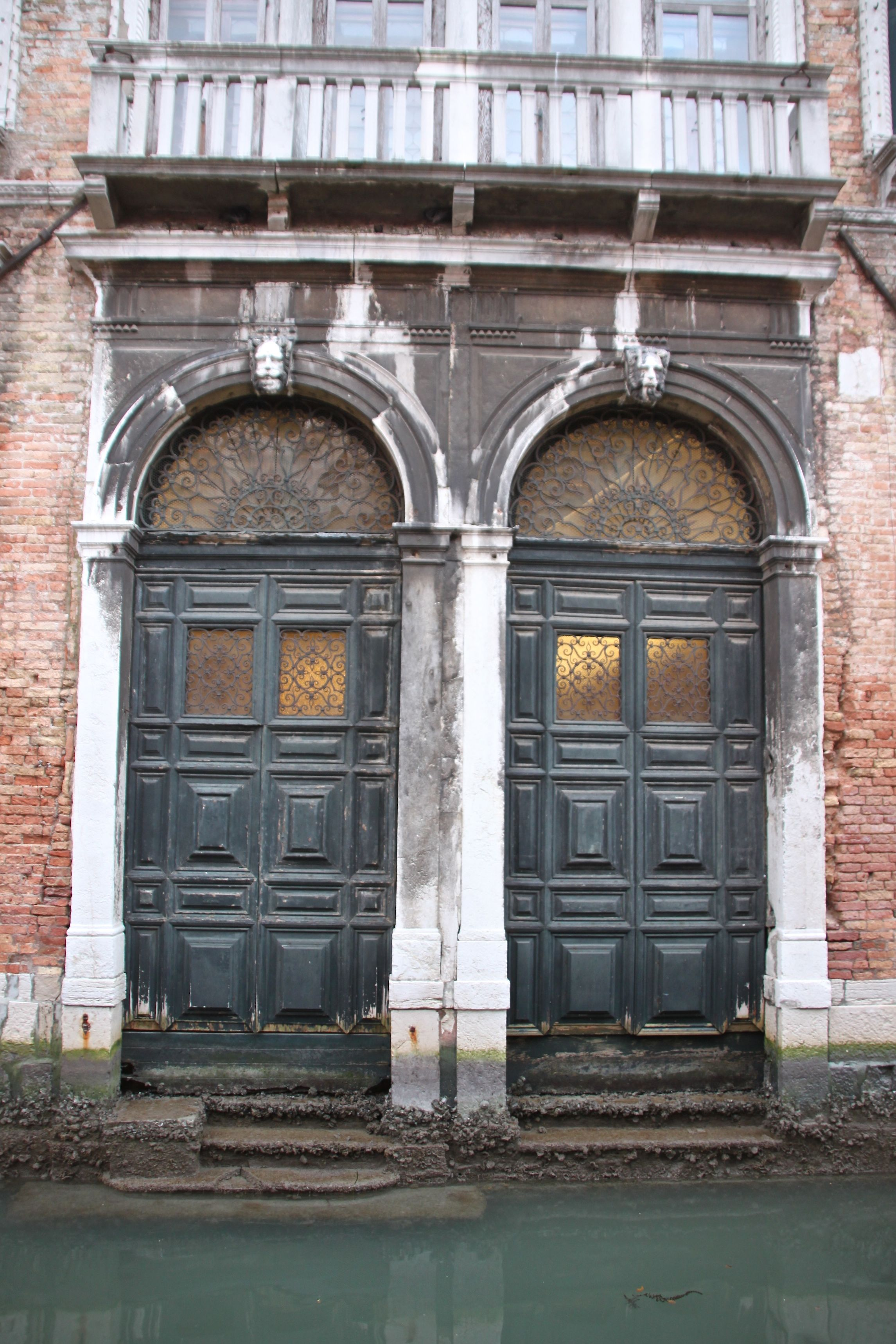 Water doors to a grand palazzo