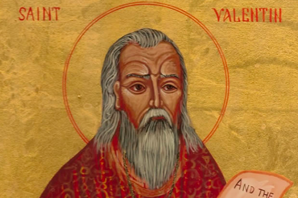 Saint Valentine in all his lovely glory