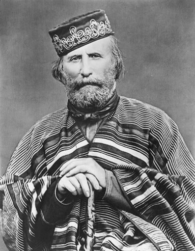 The rather stylish Giuseppe Garibaldi