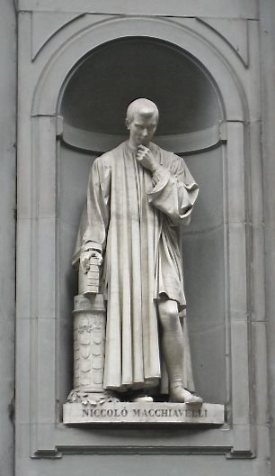 Florentine strategist Niccolò Machiavelli