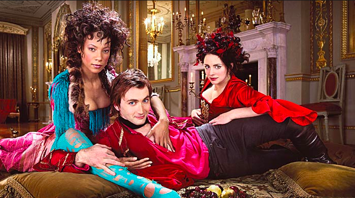 A young David Tennant plays the young Casanova in full seduction mode!