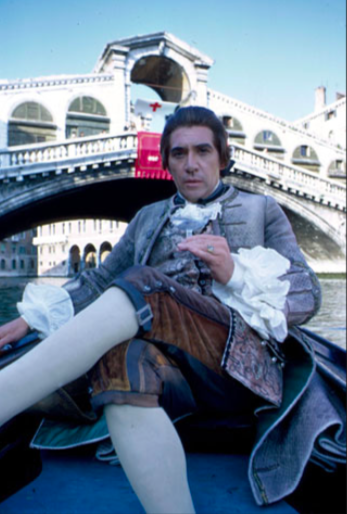 Frank Finlay's Casanova takes a gondola up the Grand Canal