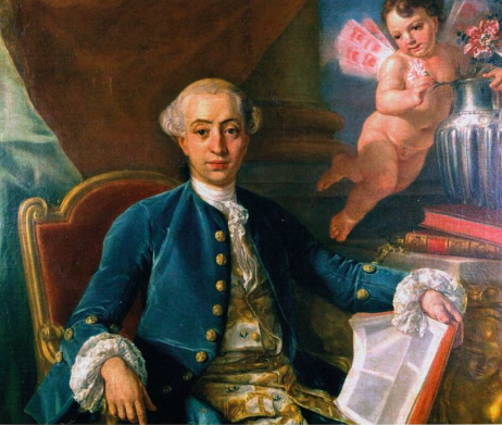 Womiser Giacomo Casanova seduced the young Giustiniana Wynne