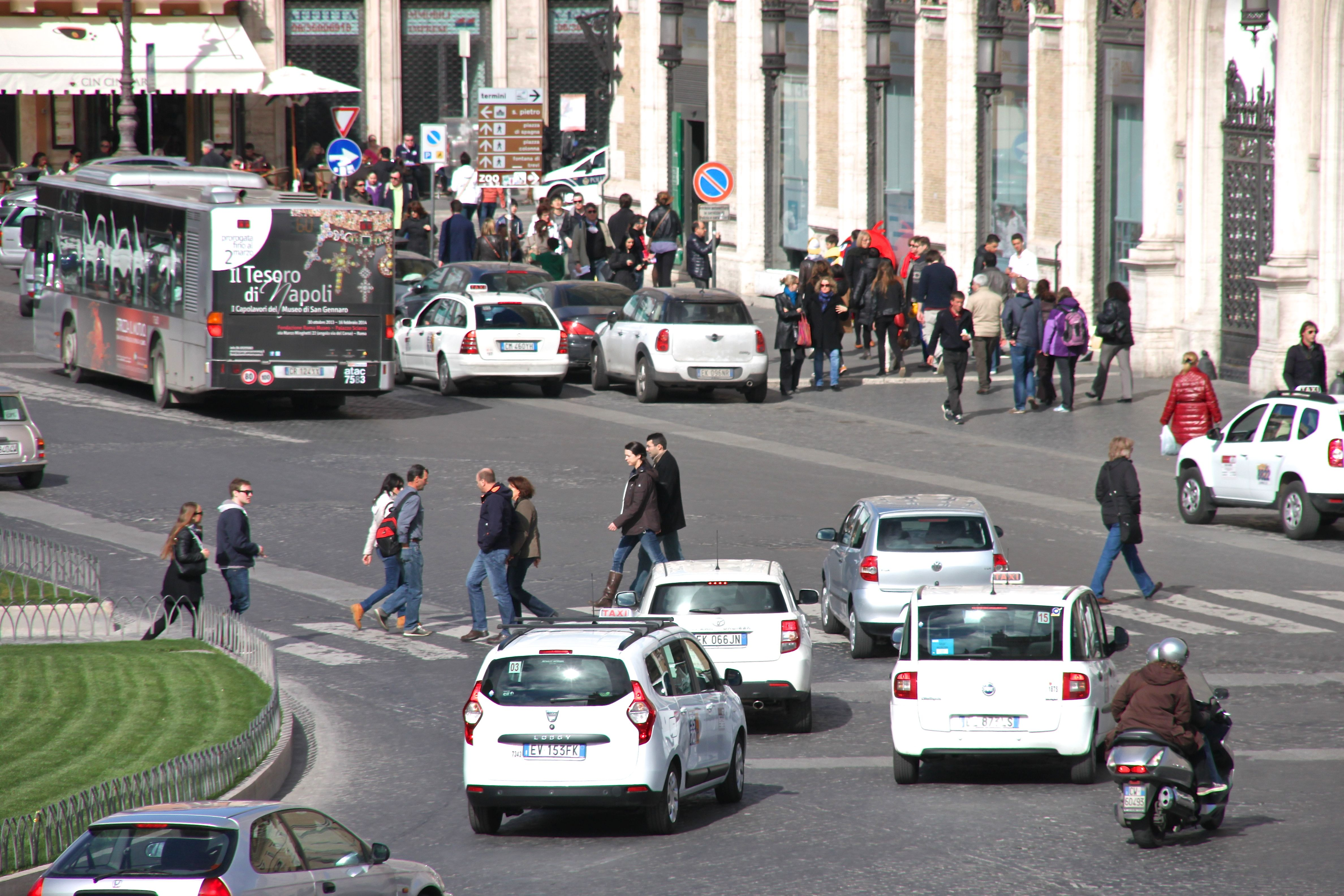 I suspect Rome's streets might be a little busier during the strike :o(