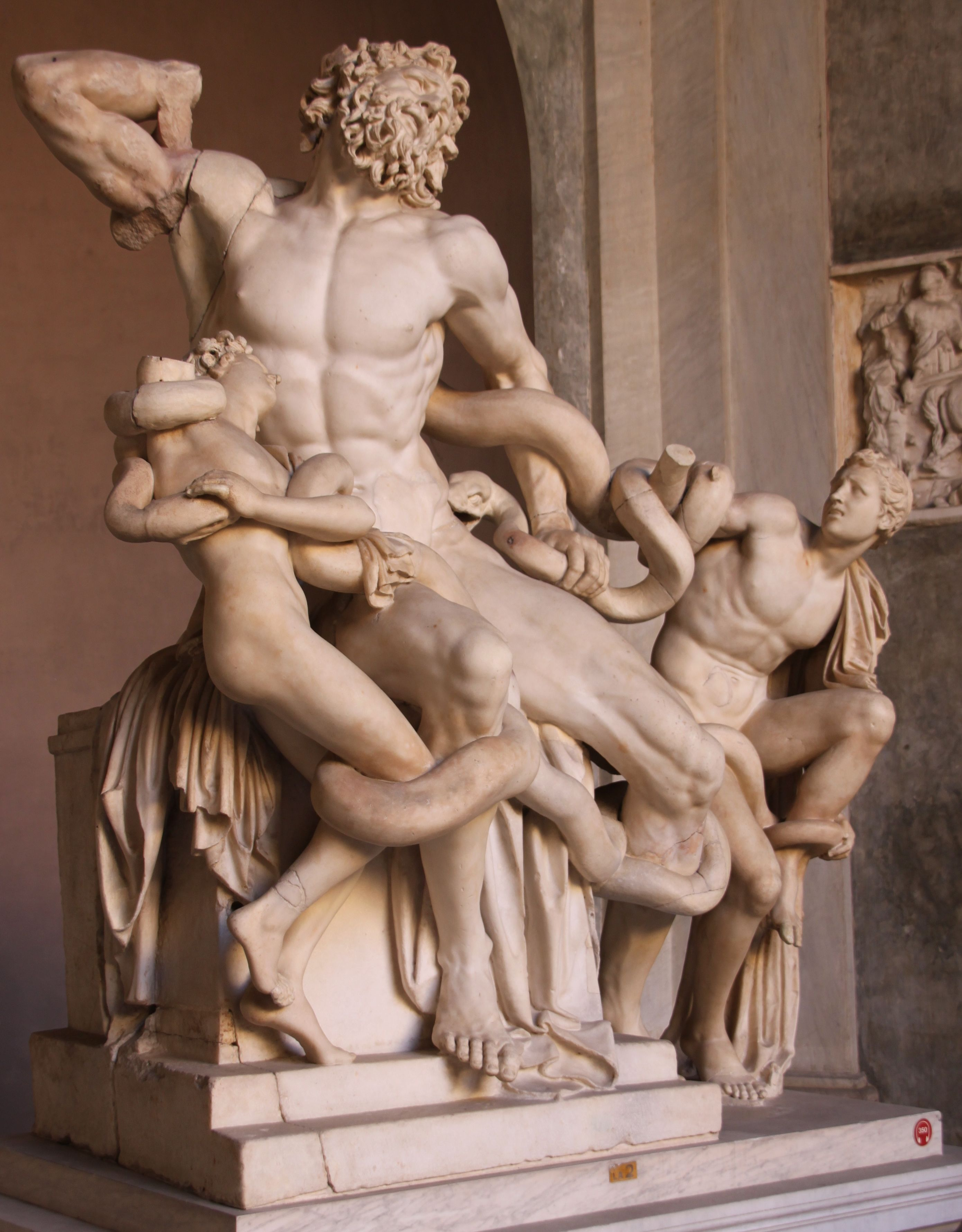 Laocoön and his sons, Vatican Museum, Rome