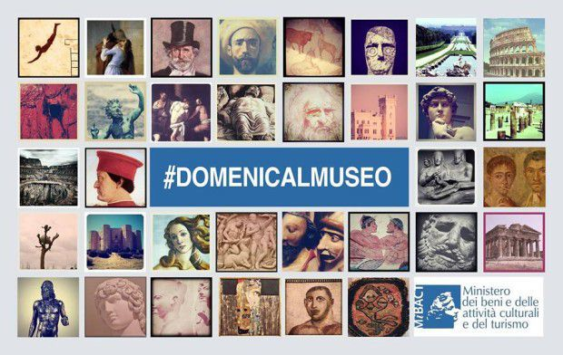 What's on in Italy - Domenica al museo