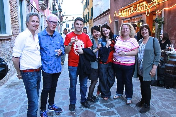 Weekly drinks to practice Italian in Venice
