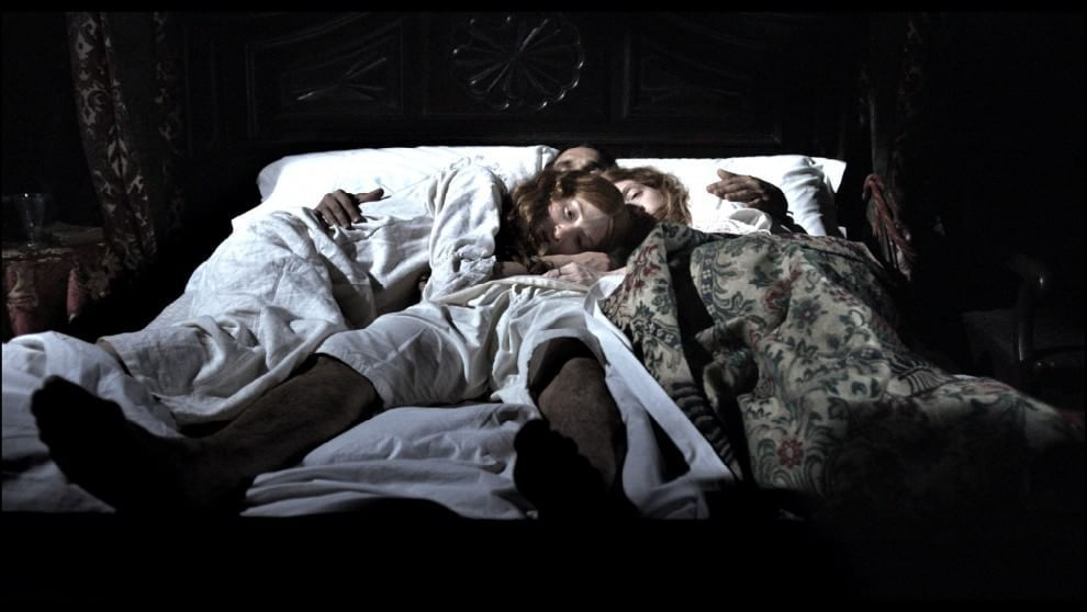 Bedroom scene from Marco Bellocchio's vampire inspired Sangue del mio sangue (Blood of my blood)