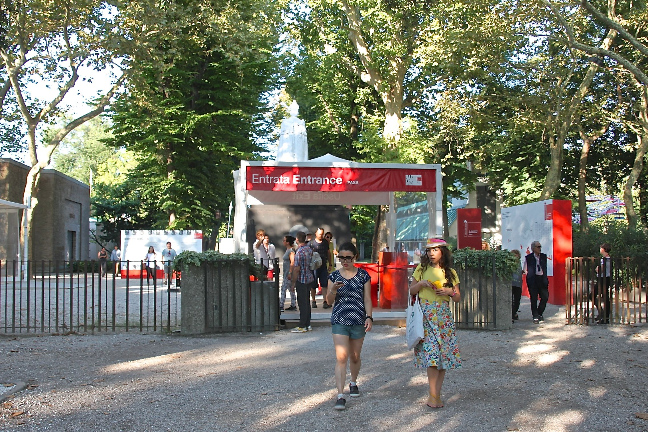 Entrance to the Venice Art Biennale Gardens