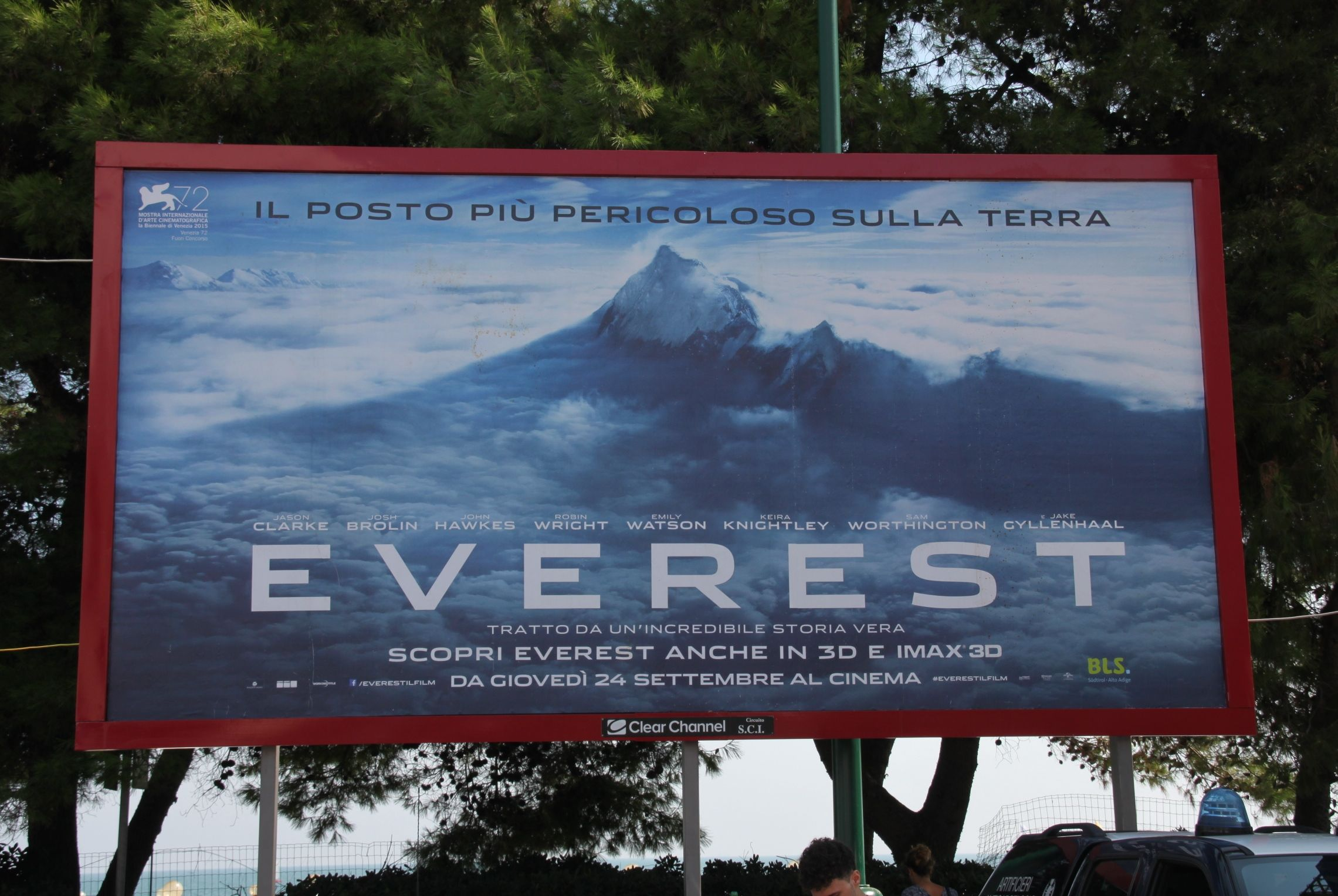 Everest starring Jake Gyllenhaal, Josh Brolin & Emily Watson opened the 72nd Venice Film Festival, 2015