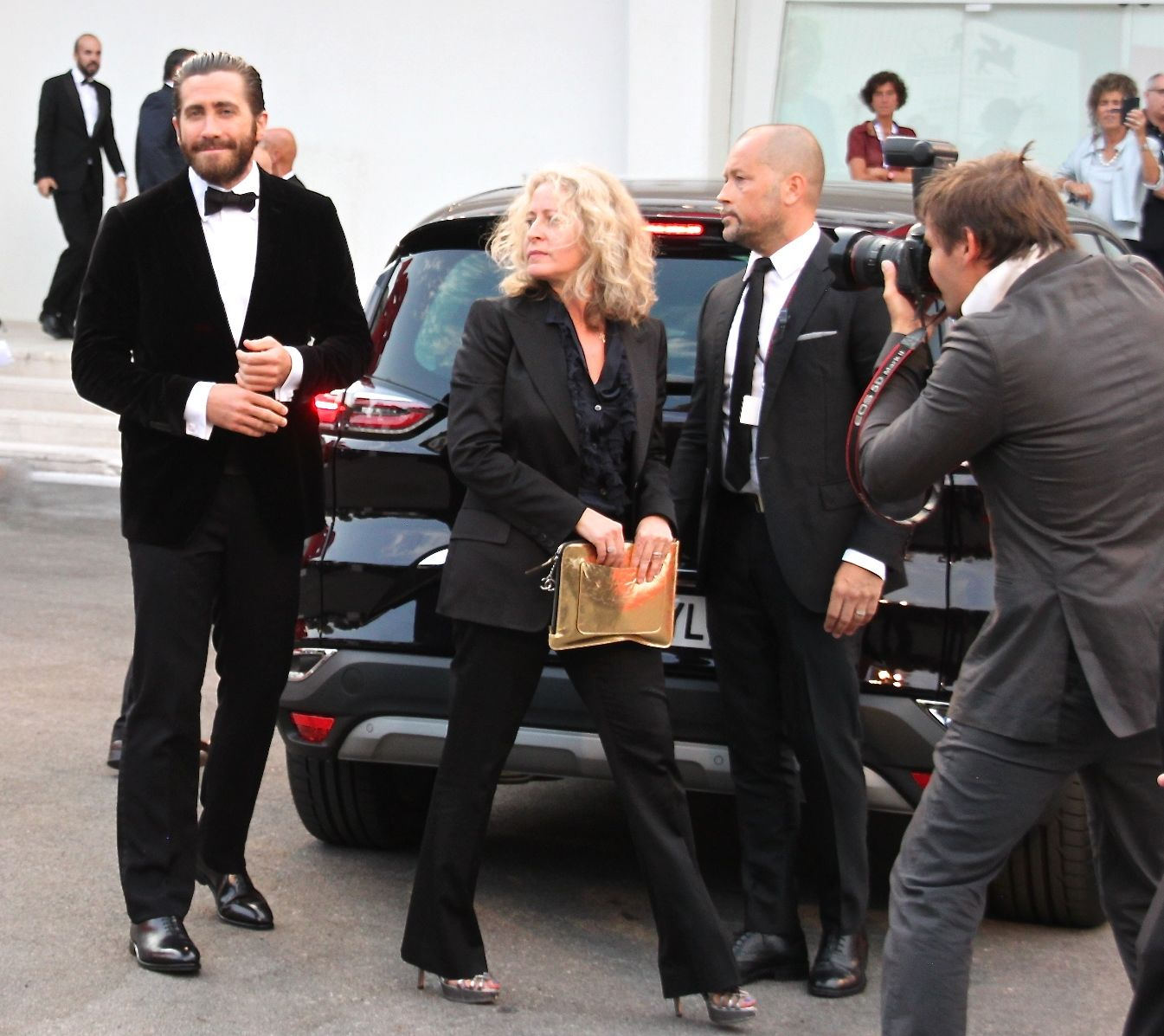 Jake Gyllenhaal arrives for the Everest premiere in Venice, 2015