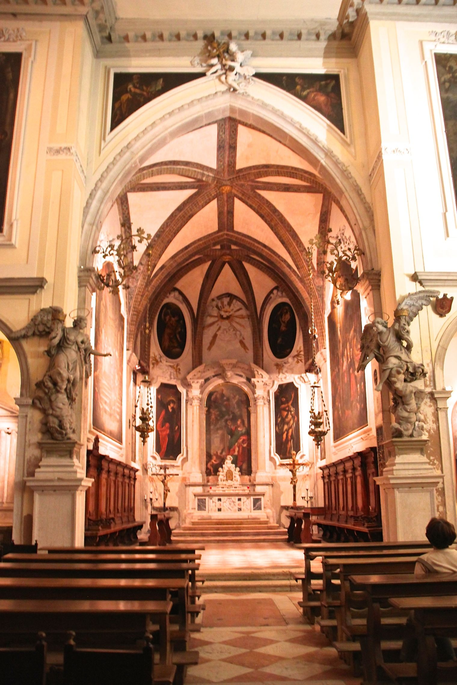 The Venice Music Project regularly play at the Church of San Giovanni Evangelista in San Polo, Venice