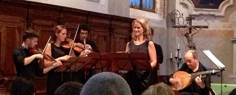 Soprano Liesl Odeweller and the Venice Music Project perform at the Church of San Giovanni Evangelista in San Polo, Venice