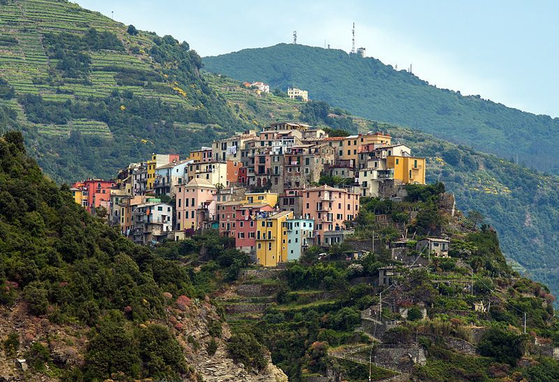 Corniglia on Liguria's Cinque Terre coastline is a beautiful backdrop to going down on one knee!