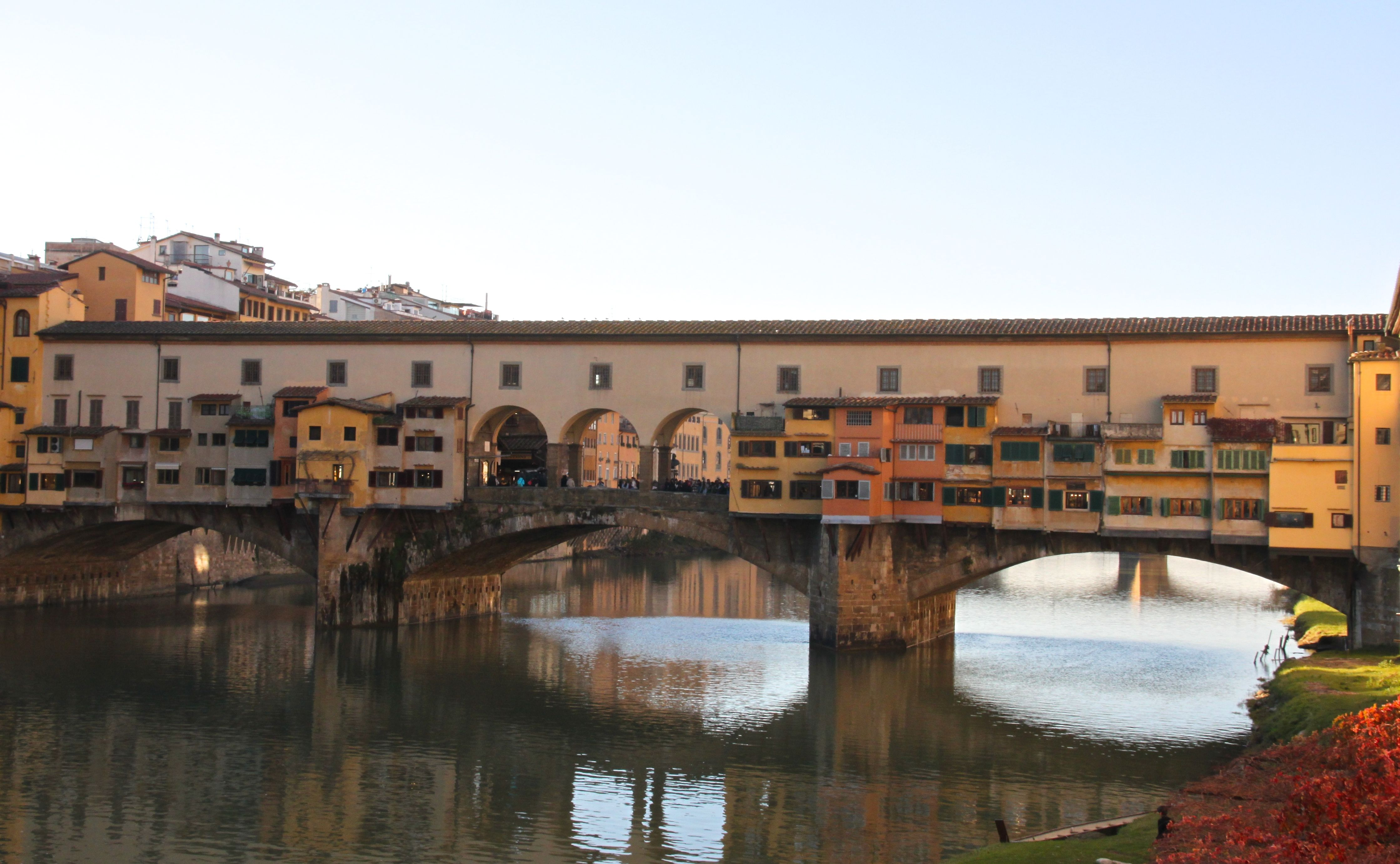 Florence's Ponte Vecchio is a classic spot to propose
