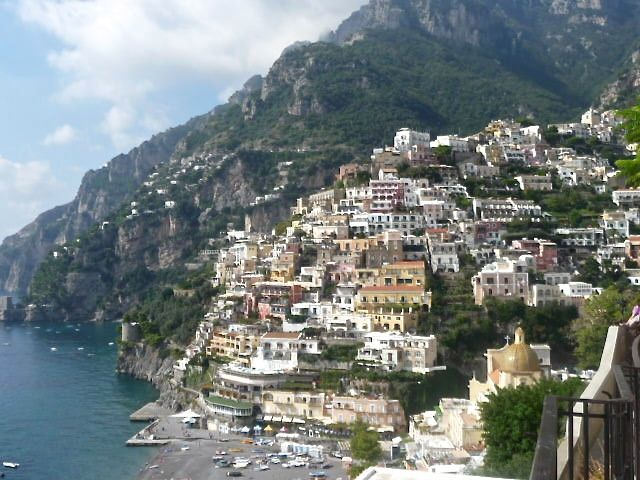 Positano offers a perfect backdrop for a romantic Italian proposal