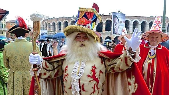 Verona's Papà del Gnoco leads February's carnival celebrations