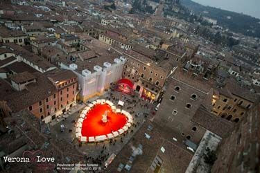What's on in Italy in February - Verona in love