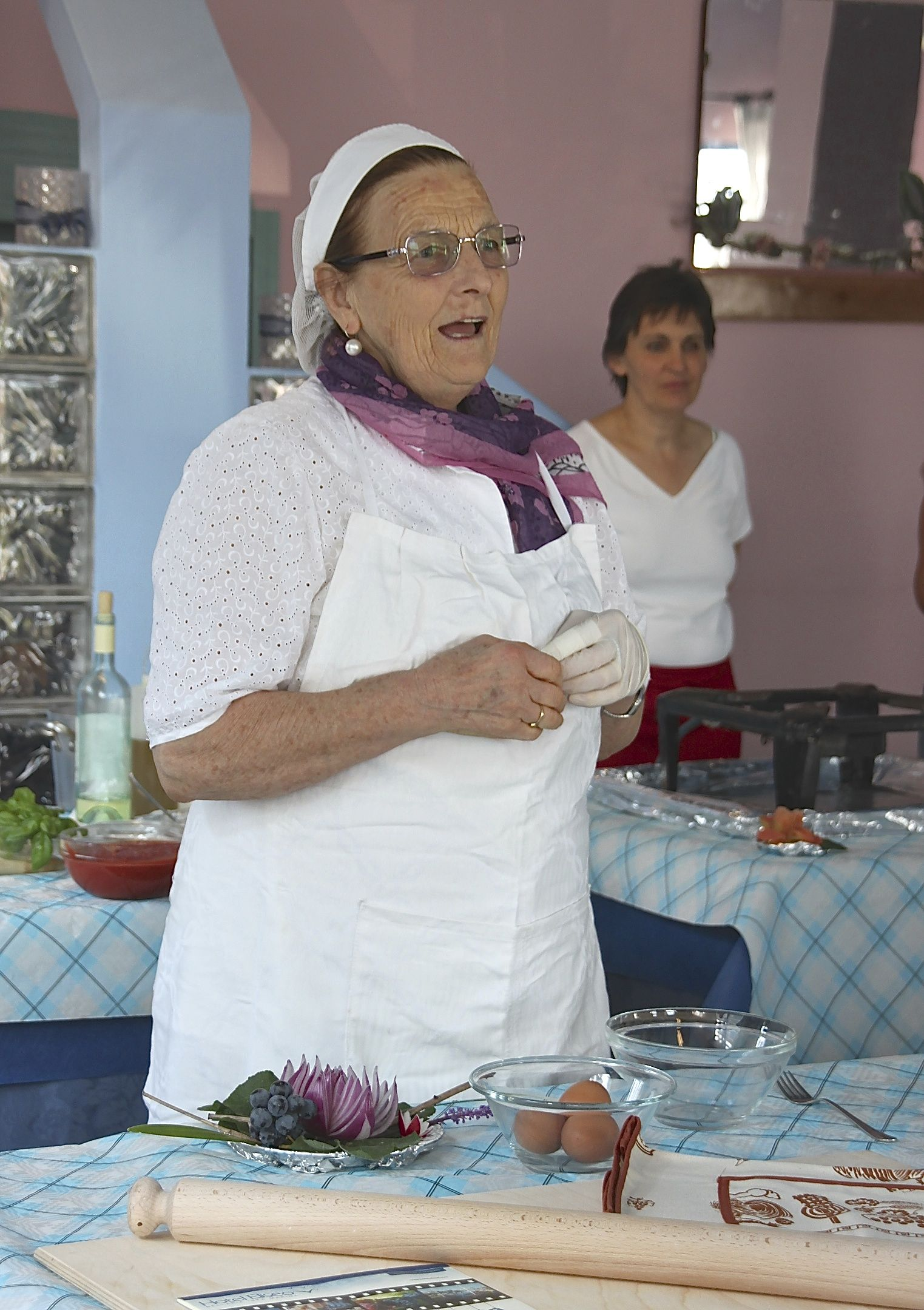 Learn how to cook Romagnolo-style with Nonna Violante