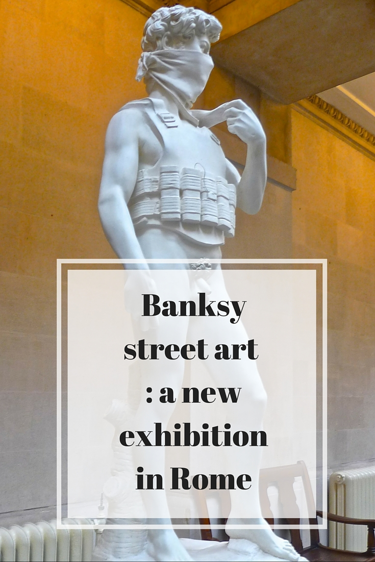 D_D_Italia - Banksy street art - a new exhibition in Rome