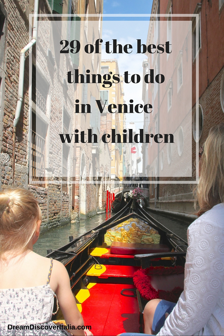 things to do in Venice with children